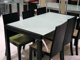 table de cuisine en verre trempé table cuisine verre trempe ambiance socialfuzz me