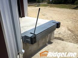 Commercial Overhead Door Installation Instructions by Blue Giant Edge Of Dock Manual Ridgeline Overhead Garage Door