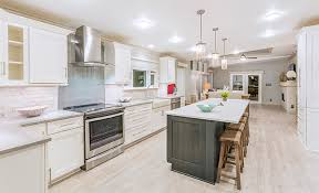 light gray stained kitchen cabinets 2017 show village millennial home