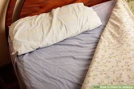 bed bugs pillows how to check for bedbugs with pictures wikihow