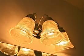 Bathroom Light Globes by Updating The Bathroom Light Fixture Dream Green Diy