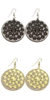 mr t earrings earrings like joanna gaines multilayer frosted dangle drop