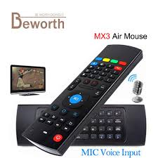 android keyboard with microphone 2 4g mx3 mini wireless keyboard with microphone voice 3 in 1 fly
