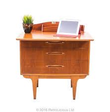 bureau retro jentique teak metapmorphic sideboard bureau desk retro mid century