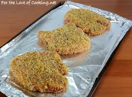 italian panko and parmesan crusted pork chops for the love of