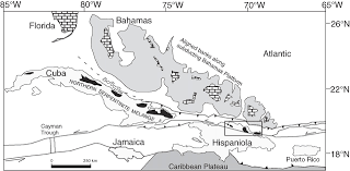 Blank Map Of Dominican Republic by Contrasting Origins Of Serpentinites In A Subduction Complex