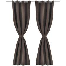 Brown Blackout Curtains Buy Cheap And Quality Curtains At Lovdock Com