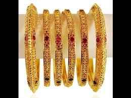 gold bangle bracelet sets images 6 piece gold bangles sets designs set of 6 jpg