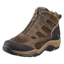 s quarter boots ariat terrain h2o zip boot shoes