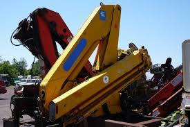 sold 2000 effer 110 4s unmounted knuckleboom 4 ton crane crane