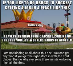 fenns job comps burger king