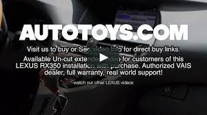 lexus warranty plans lexus rx350 video audio via mhl android by vais and autotoys com