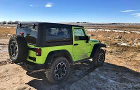green jeep rubicon 2017 jeep wrangler rubicon hard rock review by tim esterdahl