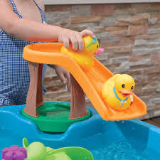 step2 duck pond water table includes 2 decorated rubber duckies