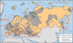 map of europe russia and the independent republics transcaucasia region eurasia britannica