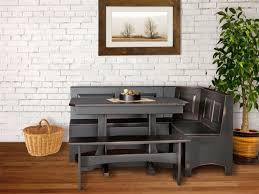 L Shaped Bench Dining Tables Bench Corner Kitchen Table With Storage Bench Within Satisfying