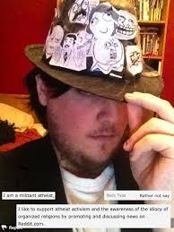 Anti Atheist Meme - 10 times atheist fundamentalists made the internet worse