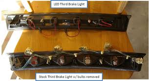 mustang third brake light restore how to install a chrome led third brake light on your 1999 2004