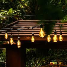 string lights ove decors 24 light 48ft globe string lights