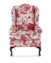 american style armchair floral design living room furniture