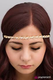 hippie headbands paparazzi accessories armed and dangerous white