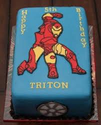 iron man birthday cake party superhero pinterest iron man