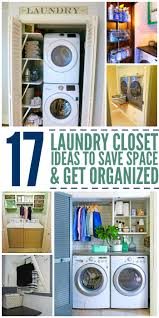 Laundry Room Storage Between Washer And Dryer by 15 Laundry Closet Ideas To Save Space And Get Organized