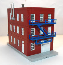 3 Story Building Fs Mth Maple Donuts 3 Story Building O Gauge Railroading On
