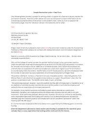 ideas of sample recommendation letter for volunteer award on