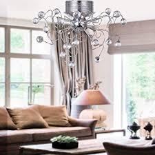 Chandelier For Living Room Lightinthebox Modern Crystal Chandelier With 11 Lights Chrom