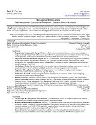 mba resume template