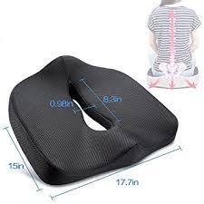 chaise orthop ique de bureau orthopédique pour coccyx en mousse à mémoire coussin d assise au