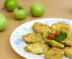 comment cuisiner les tomates vertes beignets de tomates vertes recette de beignets de tomates vertes
