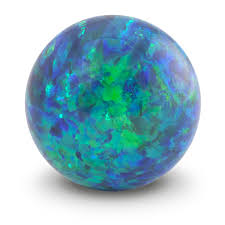 blue green opal sea blue opal