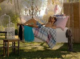 Summer Backyard Ideas Hanging Beds Adding Summer Decorating Thrill To Backyard Designs