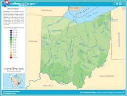 map of ohio lakes streams and rivers