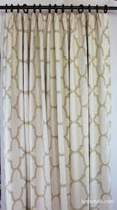 windsor smith riad fan pleated drapes shown in ivory