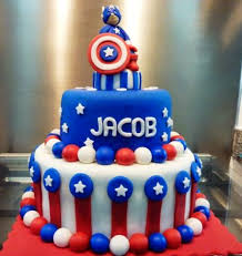captain america cake topper 50 best captain america birthday cakes ideas and designs