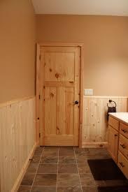 Knotty Pine Interior Doors Interior Doors Knotty Pine Craftsman Style Bathroom Door Bayer