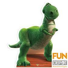 buy toy story rex cardboard cutout fun depot