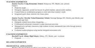 Free Teacher Resume Templates Teacher Resume Template Free Resume Template And Professional Resume
