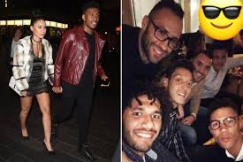arsenal stars get over everton defeat by stepping out with wags