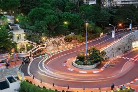 Monte Carlo Lights Monte Carlo Monaco Roads Street Lights Cities 5616x3744