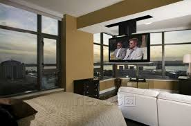 Drop Down Tv From Ceiling by Tv Lift In Front Of Window Home Solutions Pinterest Tvs