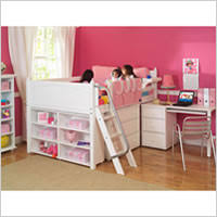 Full Size Loft Beds For Girls by Full Size Loft Beds