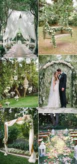 garden wedding ideas 30 totally breathtaking garden wedding ideas for 2017 trends