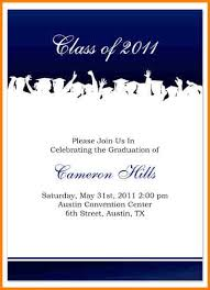 9 graduation invitation template free artist resume