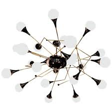 Atomic Chandelier Exceptional Huge Atomic Or Sputnik Chandelier In The Style Of