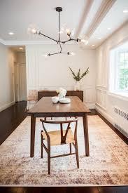 anna u0027s modern classic dining room renovation brooklyn limestone