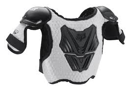 motocross protective gear fox racing peewee kids titan chest protector deflector roost guard